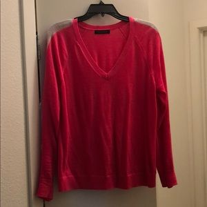 Hot pink sweater